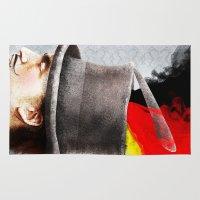 german Area & Throw Rugs featuring German by Francesca Cosanti
