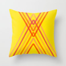 Energy in Summer Throw Pillow
