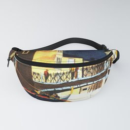 Evening In Venice Italy Fanny Pack