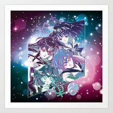 Outer Senshi Art Print