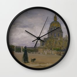 Henry Ossawa Tanner - Les Invalides, Paris Wall Clock