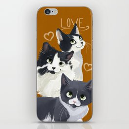 Meow Love iPhone Skin