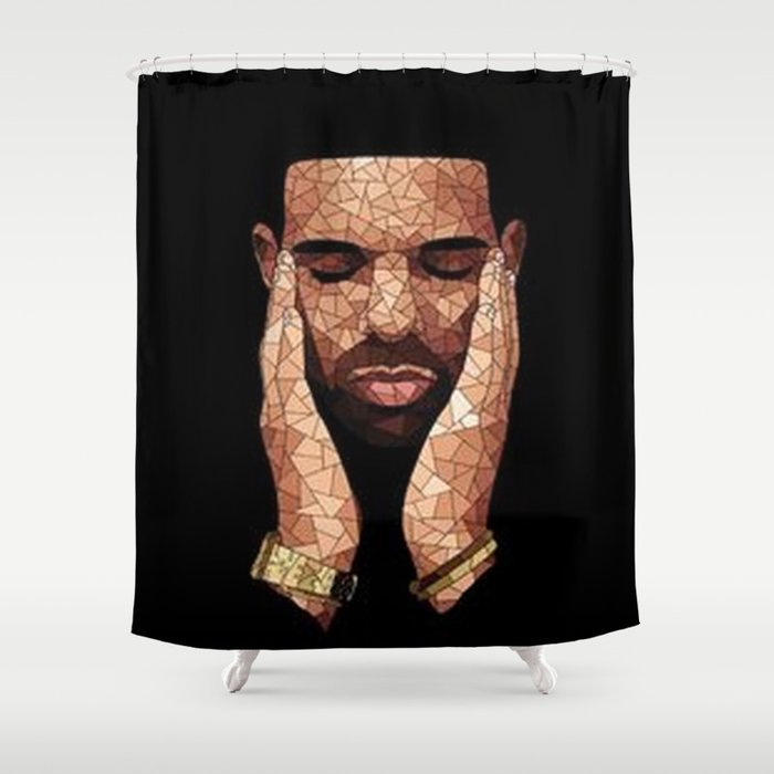 Drake Shower Curtain By Broxi