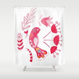 Bird of Hope Shower Curtain