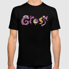 G R O S S Black MEDIUM Mens Fitted Tee