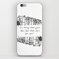 baltimore iPhone & iPod Skins featuring Baltimore by Lasafro