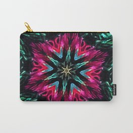 Girls Night Out Feather Boa Kaleidoscope Carry-All Pouch