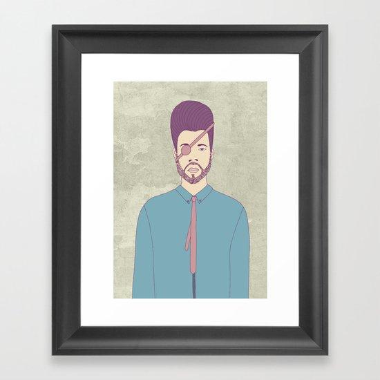 Captain Andrew Framed Art Print