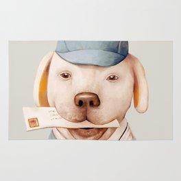 Delivery Dog Rug