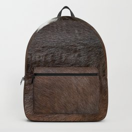 Cowhide for a fluffy hair lover Backpack
