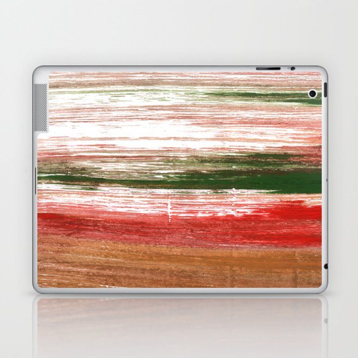 Copper abstract watercolor Laptop & iPad Skin