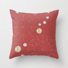 Diamonds for you Throw Pillow