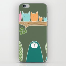 Sleepy Birds iPhone Skin