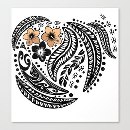 Polynesian Tribal Canvas Print