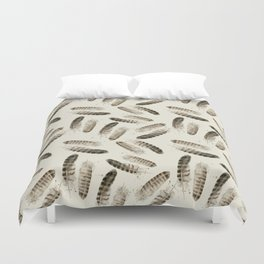 Pheasant Feather 2 Duvet Cover