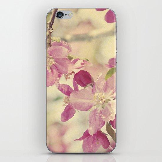 Pink Crabapple Blossom iPhone & iPod Skin
