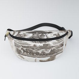 Country Western Fanny Pack