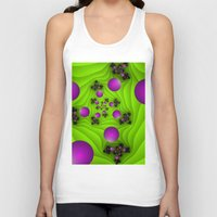 fractal Tank Tops featuring Fractal by gabiw Art