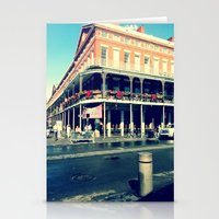 new orleans Stationery Cards featuring New Orleans by Lindsey