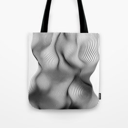 Life is not a straight line Tote Bag