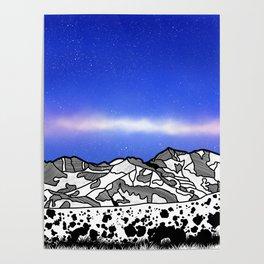 Mount Snowdon Wales Poster
