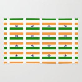Flag of India 2-indian,mumbai,delhi,hindi,indus,buddhism,hinduism,buddha,gandhi Rug