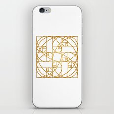 Golden Ropes iPhone Skin