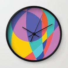 Geometric Beach Ball 2 Wall Clock