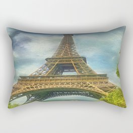 Eiffel Tower - La Tour Eiffel Rectangular Pillow