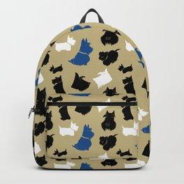 Scottish Terrier Backpack- Backpack for Scottish Terrier Lovers Scottish Terrier Gifts PP706 Unique Gift for Scottish Terrier Lovers