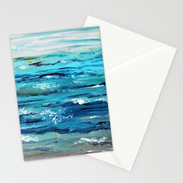 Ocean Painting Stationery Cards