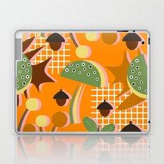 Autumn mushrooms Laptop & iPad Skin