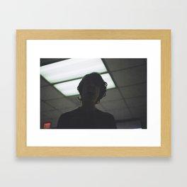 Violence Framed Art Print