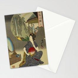 Inn at Hot Springs byToyohara Chikanobu Stationery Cards