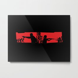 The Last of Us FanMade 1 Metal Print