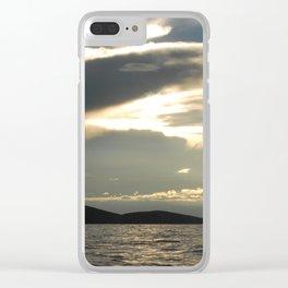 Titicaca 2 Clear iPhone Case