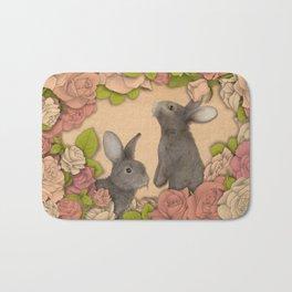 Rosie Rabbits Bath Mat