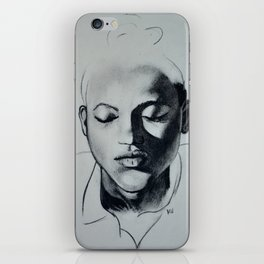 Shadow Girl iPhone Skin