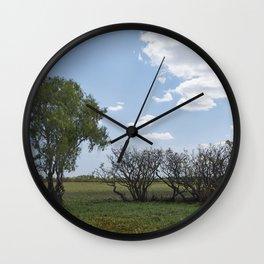 Green drove Wall Clock