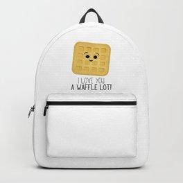 I Love You A Waffle Lot! Backpack