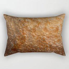 air bubbles on the egg Rectangular Pillow