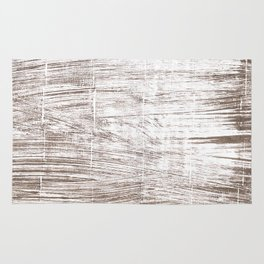 Cinereous abstract watercolor Rug