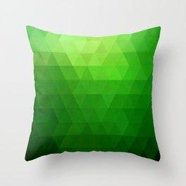 Fields of Green Throw Pillow