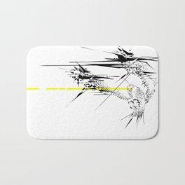 Holy Weapon // (Glitch Owl) Bath Mat