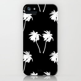 Palm Trees Tropical Night iPhone Case