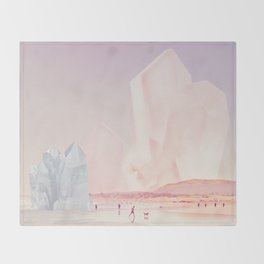Crystal Beach Throw Blanket