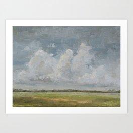 open sky 1 Art Print