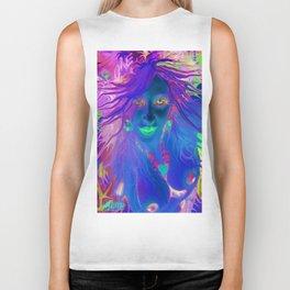Art,fairy wood nymph,Nude ladykashmir hot ,pink,yellow,i pod,lap top,t shirt,cups,tote ,bags, Biker Tank