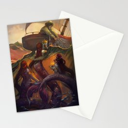 Treasure from the Deep  Stationery Cards