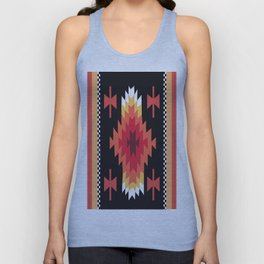 American Native Pattern No. 41 Unisex Tank Top